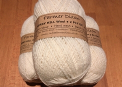 Wool: 50g ball Kerry Hill 2-ply